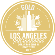 The L.A. International Extra Virgin Olive Oil Competition 2017 Gold Medal