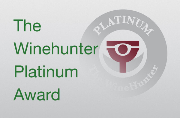 The Winehunter Platinum Award 2019
