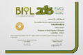 BIOL 2016 - 21st International Prize